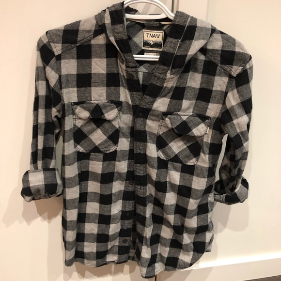 TNA Hooded Flannel